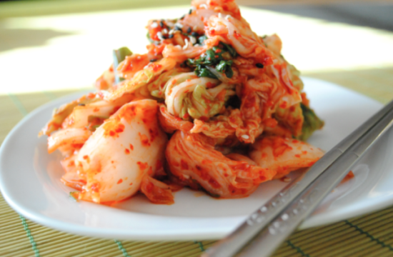 duffelbagspouse plate of kimchi