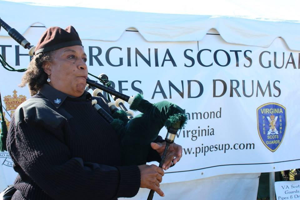 Virginia Scottish Bagpipes and Drum Core perform at the yearly Highlands Games in Richmond, bringing a little Scotland to Virginia which helps me acclimate and lifts the reverse culture shock blues.